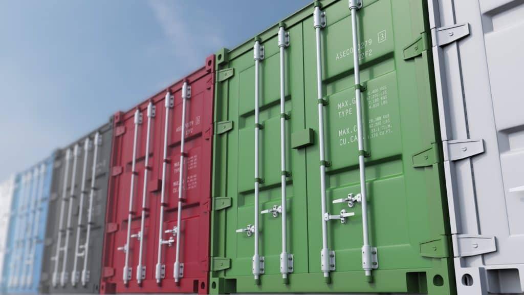 Seefracht-Export